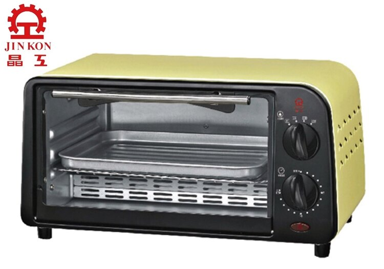 小玩子 晶工牌 9L 炫彩黃小烤箱 美味 料理 多變化 麵包 牛排 披薩 JK-609