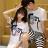 T恤 情侶裝 客製化 MIT台灣製純棉短T 班服◆快速出貨◆獨家配對情侶裝.臉【Y0311】可單買.艾咪E舖 1