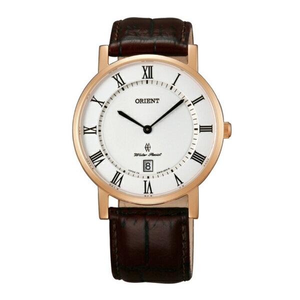Orient 東方錶(FGW0100EW)羅馬中性時尚腕錶/白面38mm