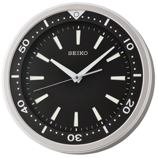Seiko 精工鐘 (QXA723A) 時尚風格靜音夜光標準鐘/35*5.4cm