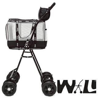 【WILL設計 + 寵物用品】雙層萬搭可拆式推車+WB02極透氣抗夏黑網#簡約白