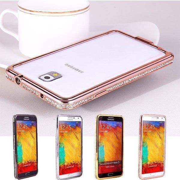 iPhone 6 I6 PLUS I5 5S S5 Note3/4 A7 鋁合金 水鑽邊框 手機殼