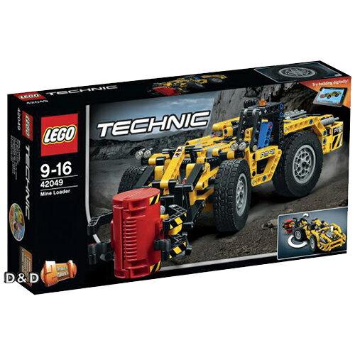 樂高積木LEGO《 LT42049 》2016 年 Technic 科技系列 - 礦山裝載機