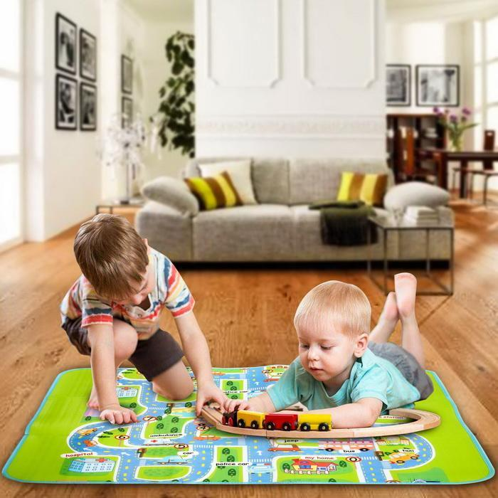 1.6x1.3m Baby Kids Children Play-Mat Picnic Cushion Crawling Mat 2