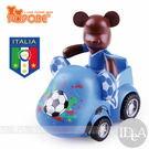 POPOBE熊 2014年巴西世界杯足球賽紀念版 車載系列 公仔車飾 義大利隊9號 非 暴力熊 MOMO熊 BE@RBRICK熊