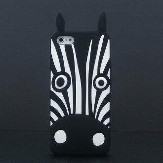 潮牌 MARC BY MARC JACOBS iPhone5S/ 5 動物系列矽膠保護套 貓頭鷹 斑馬 兔子 狗狗 貓咪 MJ 軟殼