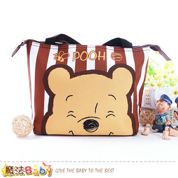 手提袋迪士尼小熊維尼正版保溫保冷提袋魔法Baby~f0292