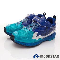 日本月星頂級競速童鞋 閃電競速2E系列 SSJ8625藍(中大童段)