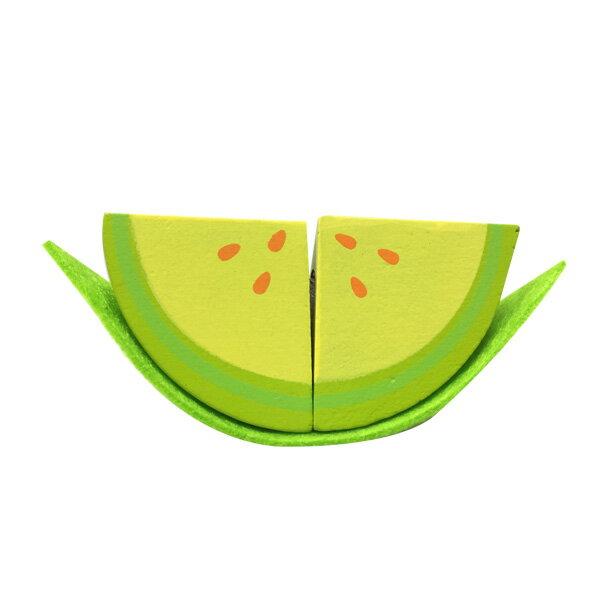 Muledy 木樂地 - 哈密瓜●木製玩具●搭配Hape主廚系列●愛傑卡