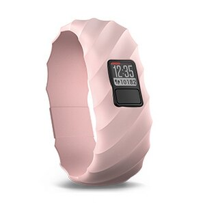 GARMIN vívofit 3 櫻粉波紋雕刻設計錶帶
