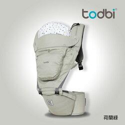 韓國【TODBI】3D STYLE腰凳式揹巾(荷蘭綠)