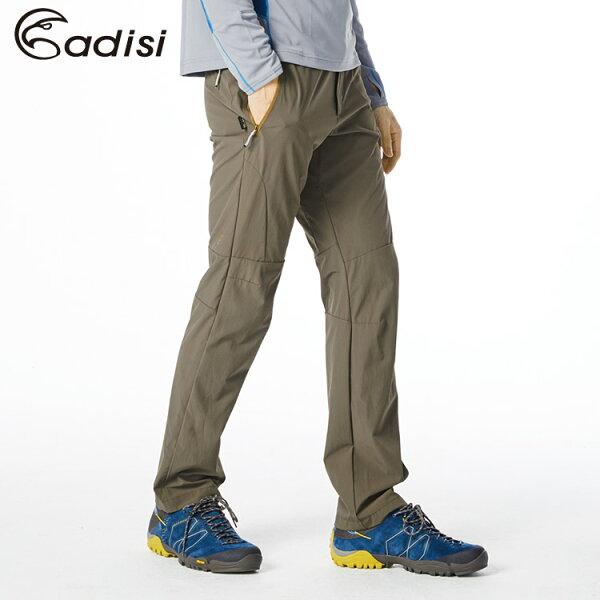 ADISI男Cordura彈性輕薄耐磨機能合身長褲AP1811012(S~2XL)城市綠洲專賣(耐磨、耐撕裂、四向彈性)