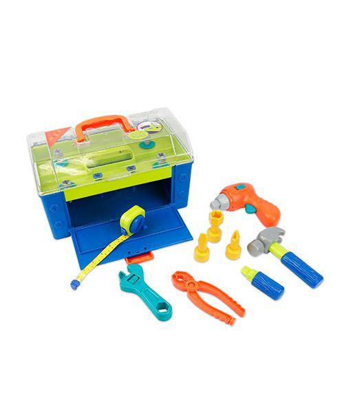 【淘氣寶寶】 建築師工具箱 Battat 0