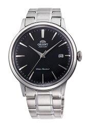 【時光鐘錶】ORIENT 東方錶 經典DATEⅡ復古機械錶 男錶 (RA-AC0006B) 黑/40.5mm