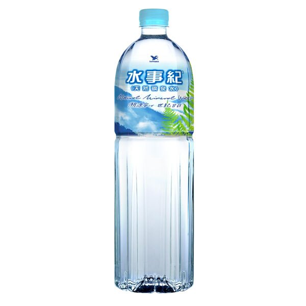 統一水事紀 天然礦泉水 1500ml (12入)x2箱【康鄰超市】