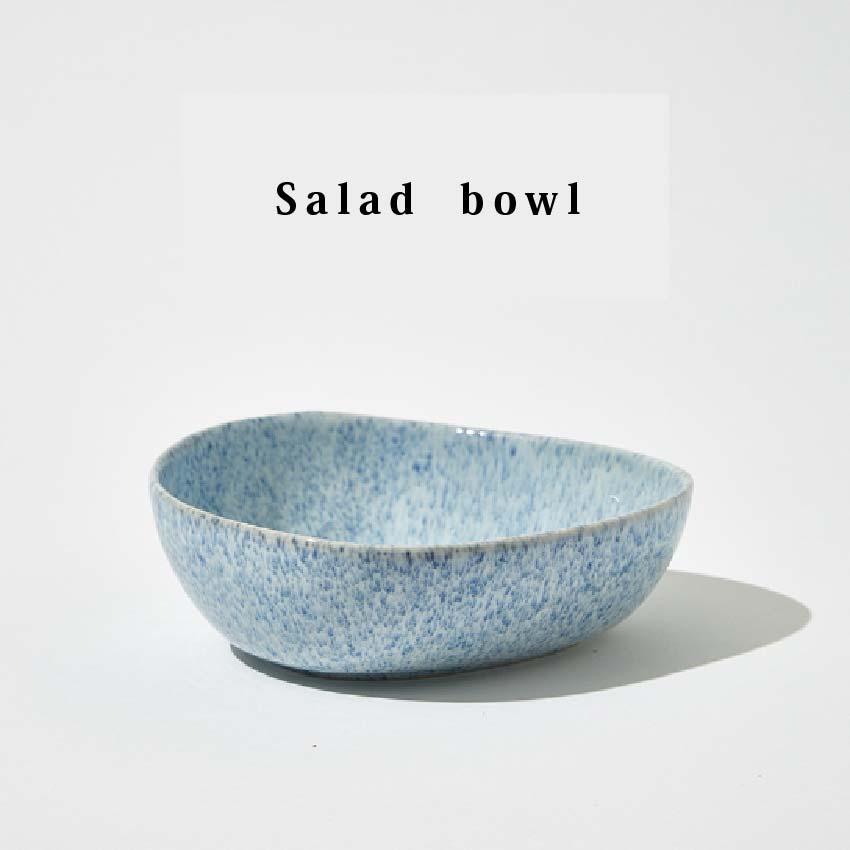 藍珀窯變釉沙拉碗 (15.6 x 6 cm )-外星人餐具