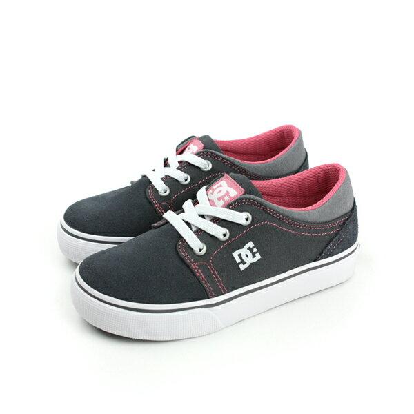 DC TRASE SLIP T SHOE GP2 休閒鞋 布鞋 鐵灰 小童 no096