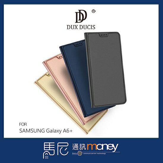 DUXDUCISSKINPro皮套SAMSUNGA6+手機殼側翻皮套鏡頭保護散熱設計【馬尼通訊】
