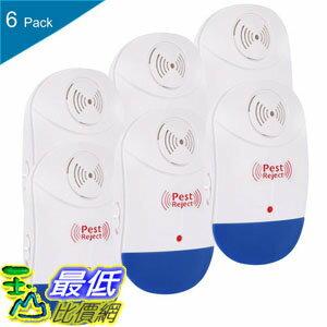 [106美國直購] Ultrasonic 超聲波驅蟲器 Pest Repeller Electronic Plug In Home Pest Control Humans