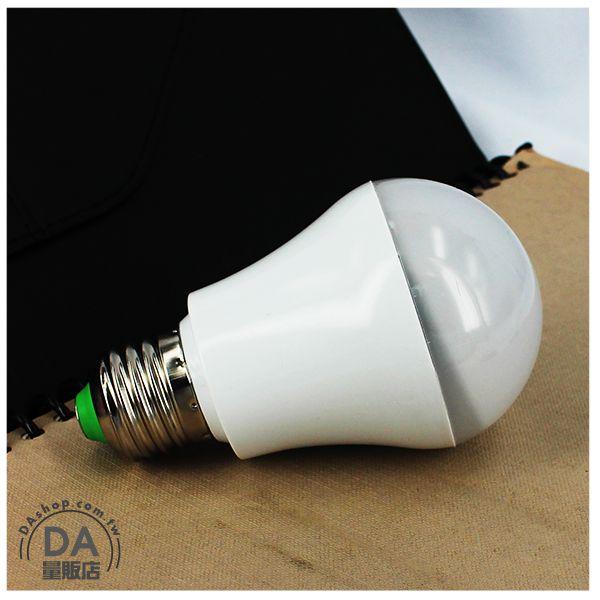 《DA量販店》E27 5W LED 黃光 燈泡 LED燈 感應燈 省電燈泡 AC85-265V 適用(79-2148)