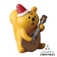送家人聖誕交換禮物推薦聖誕禮物抱枕及靠枕到Decole 聖誕節擺飾 - 彈吉他的松鼠  Concombre ( ZXS-74001 ) 現貨 推薦聖誕交換禮物 聖誕布置推薦就在文五雙全x文具五金生活館推薦送家人聖誕交換禮物