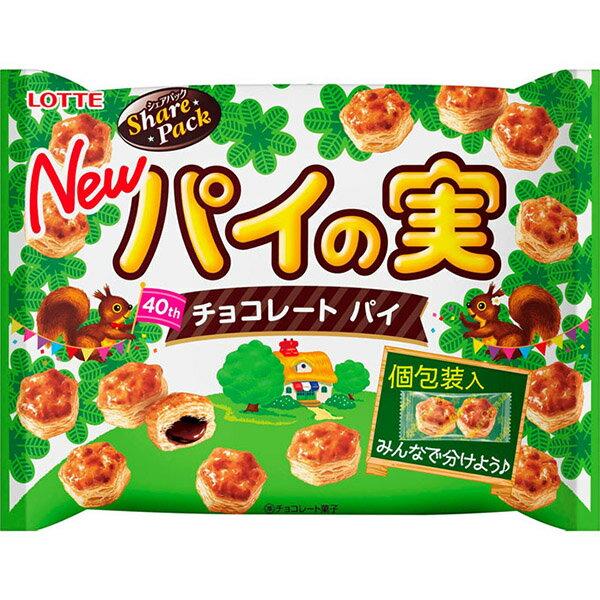 【豆嫂】日本零食 LOTTE巧克力千層派 / 小熊餅乾分享包 2