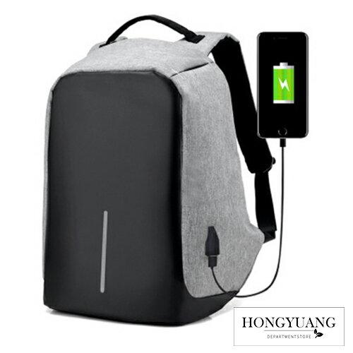 超大容量 筆電背包 防盜雙肩背包 可USB充電 防水 隱藏拉鍊 防盜後背包 運動背包 雙肩包韓版學生書包【Z90213】 0