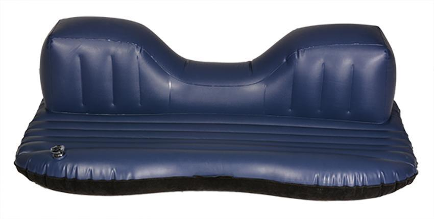 Black Car Inflatable Mattress Airbed Rest Pillow With Pump 2
