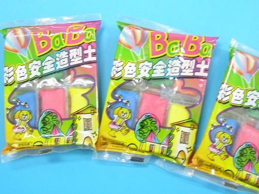 六色入 紙黏土 BaBa貝貝彩色安全 土~一件80包入~ 定^~^#50^~ 紙粘土 30