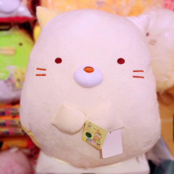 【真愛日本】18051000004角落生物造型暖手枕18吋-貓咪san-x角落公仔角落生物暖手枕娃娃