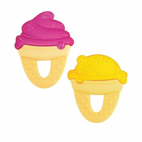 ★衛立兒生活館★Chicco 冰淇淋冰凍固齒玩具1入(隨機出貨)