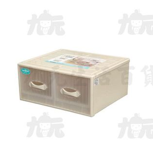 【九元生活百貨】聯府CT-882雙抽式抽屜整理箱置物收納CT882