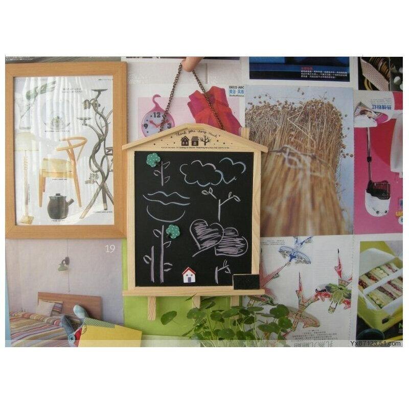 V1922 韓風小黑板 可站可掛 留言板 拍照道具 野餐箱 婚紗道具