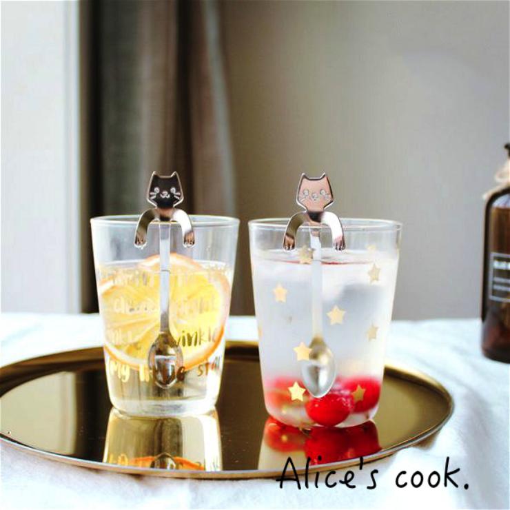 | | 夯品 貓咪可掛式攪拌勺  甜品湯匙  點心湯匙 | 日式和風|大