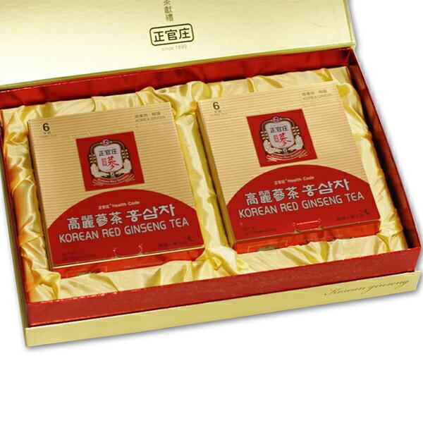 正官庄禮盒 【高麗蔘茶+高麗蔘茶】