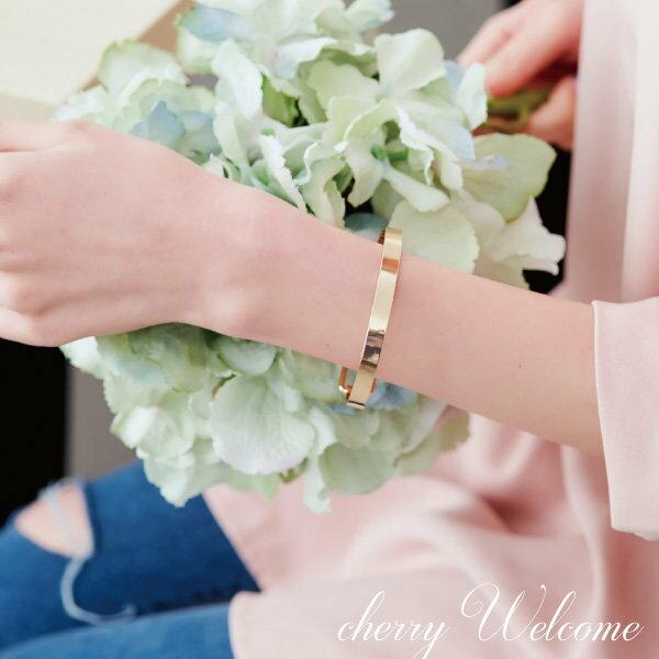 簡約簍空長方形手環【櫻桃飾品】【10595】