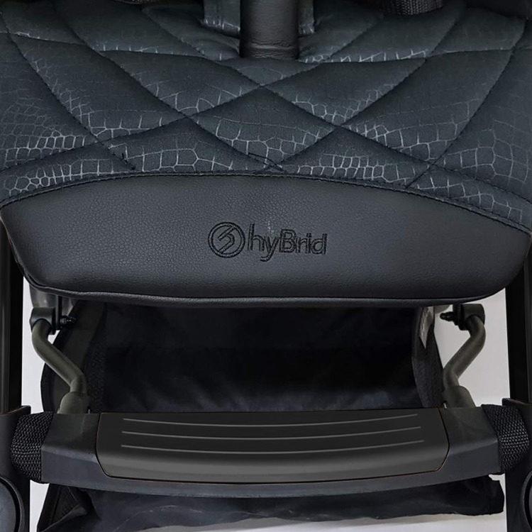 英國【Hybrid 】Cabi Rock Black時尚精品手推車-曜岩黑
