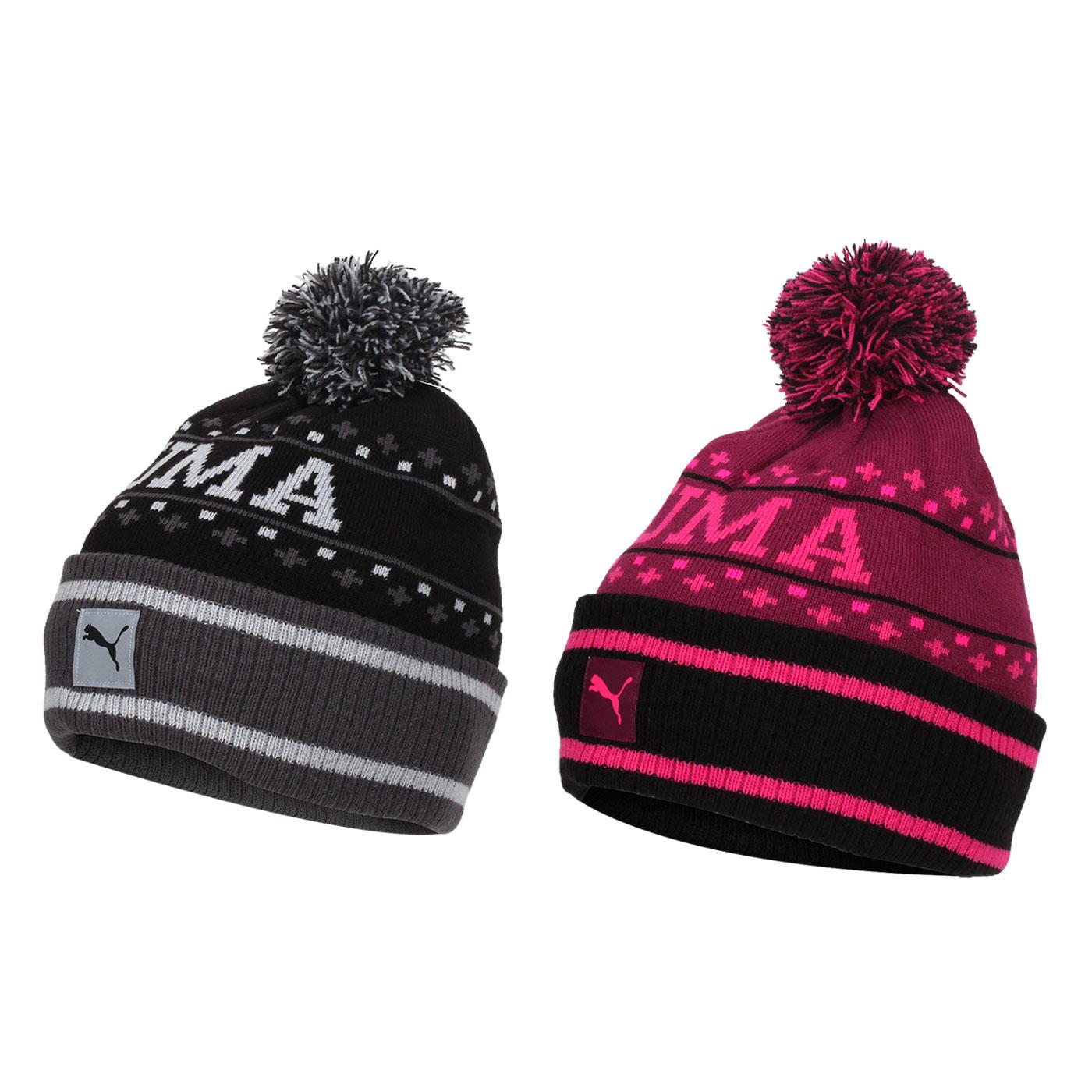 PUMA 基本系列毛帽 (帽子 針織帽 毛線帽 保暖【98490469】≡排汗專家≡