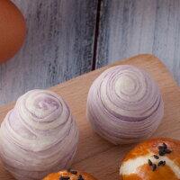 【一口芋頭酥】12入禮盒/時尚送禮新選擇/奶素可食-LS手作甜點-美食甜點推薦