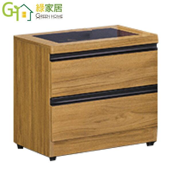 【綠家居】班尼達時尚1.6尺床頭櫃收納櫃