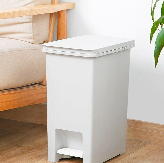 垃圾桶 家用帶蓋腳踩腳踏衛生間廁所客廳廚房有蓋北歐風分類垃圾桶