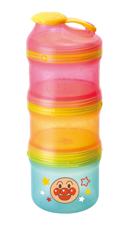 **雙子俏媽咪親子館** [日本] 麵包超人 Anpanman 奶粉分裝罐 零食罐 副食品盒 保鮮盒