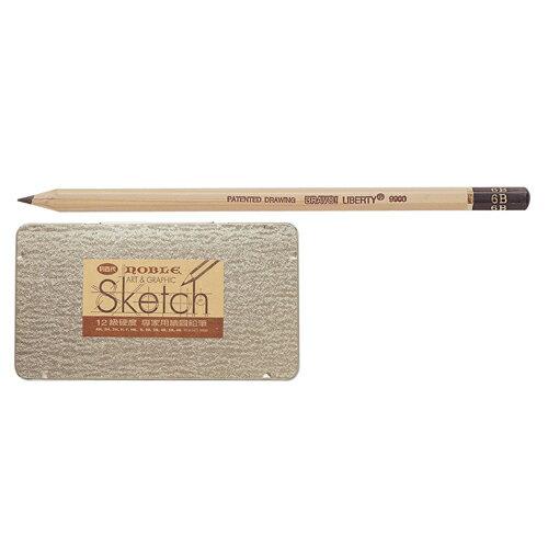 【利百代】 CB-9900 12硬度專家用繪圖鉛筆