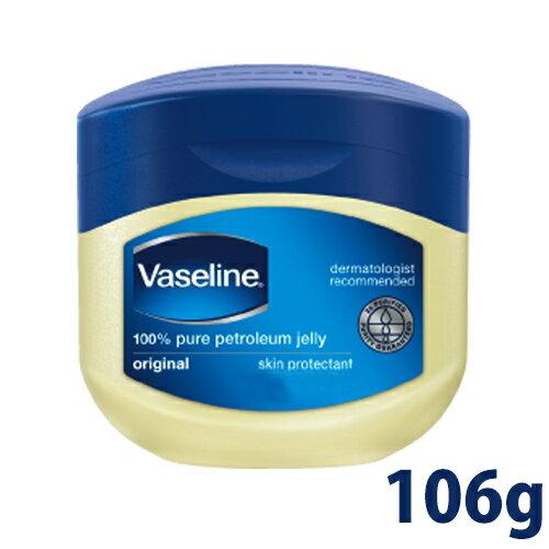 【 Vaseline 】凡士林 潤膚膏 106g 凡士林膏 預防龜裂 潤膚 保濕 美國製 - 326000