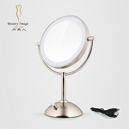 【水美人】i-Mira 7吋LED兩面型化粧鏡-MJ-T630 (化粧鏡/美容鏡)
