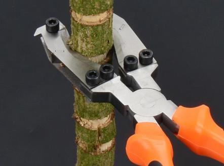 樹皮環剝器 新型環剝鉗棗樹環剝工具剝皮刀冬棗開甲器割樹皮果樹環割剪
