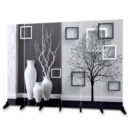 屏風隔斷客廳歐式簡易移動折疊玄關辦公雙面布藝簡約現代臥室折屏