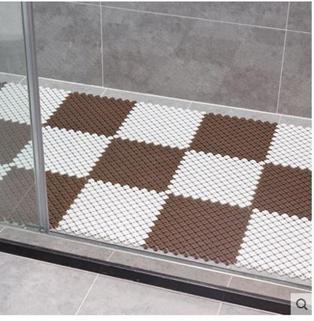衛生間浴室防滑墊淋浴房拼接隔水墊子廁所廚房腳墊衛浴洗手間地墊
