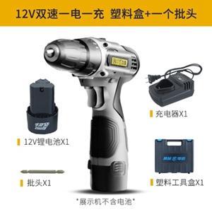 電鑽 25V充電充電電手電轉鋰電池充電式電電批電動螺絲刀12V