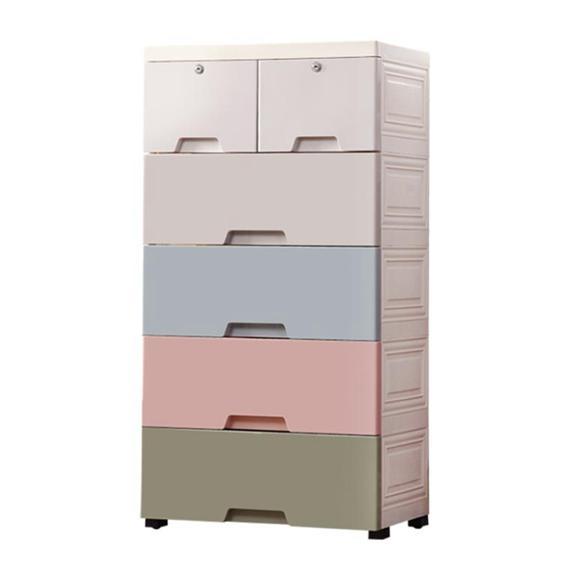 加厚特大號收納箱塑料儲物箱多層抽屜式兒童玩具衣服整理箱收納盒HRYC